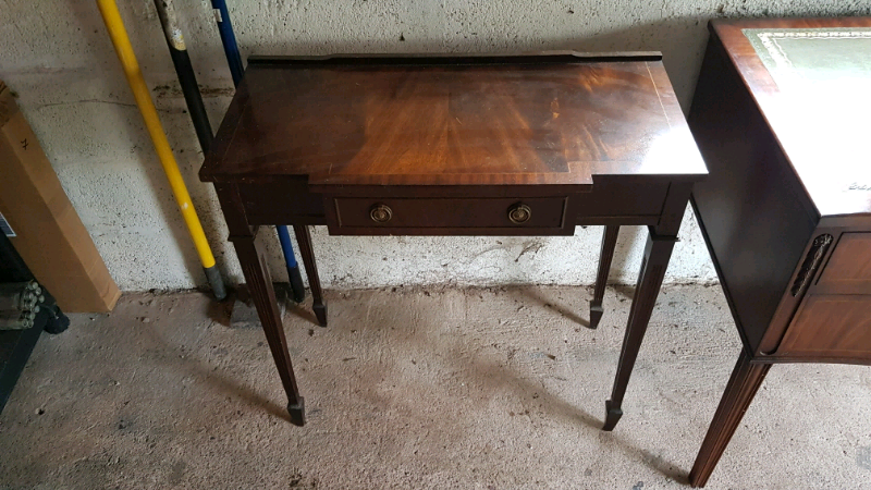 Side Table Bureau.Writing Bureau With Side Table In Gabalfa Cardiff Gumtree