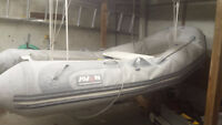 8' Avon Inflatable Boat Dingy w/ Fiberglass Hull -Priced to move