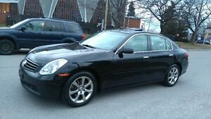2006 INFINITI G35X AUTOMATIC BLUETOOTH LEATHER ROOF ALLOYS