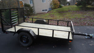 6' x 10'  New (no tax) side by side Trailer