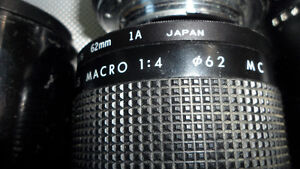 6 35mm Camera Lenses Various Mounts $60 All. Unknown mounts... Prince George British Columbia image 3
