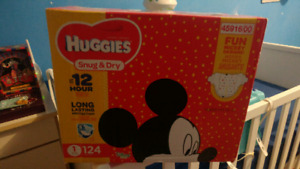 Huggies diapers size 1 never opened