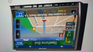 Alpine in-dash gps navigator receiver car stereo