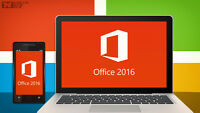 Microsoft Office Windows and Mac - Available Now