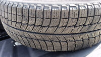 Winter rims and tires off dodge 2013 dodge charger only 2000km