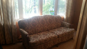 Vintage Sofa  - re-upholstered - excellent condition Peterborough Peterborough Area image 1