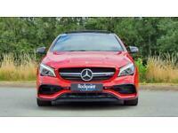 2017 Mercedes-Benz CLA Class 2.0 CLA45 AMG SpdS DCT 4MATIC (s/s) 4dr