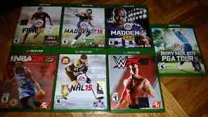 XBOX One Sports Games (Various Prices)