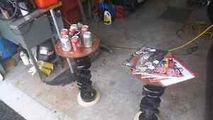 SBC CRANKSHAFT END TABLES / pedistal tables MANCAVE West Island Greater Montréal image 3