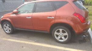 Used Parts Nissan Murano