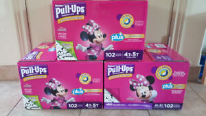 4T-5T Huggies Pull-Ups. 120 count boxes