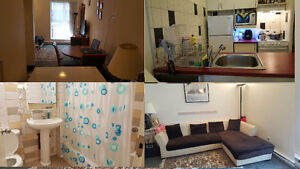 1 1/2 appartment for LEASE TRANSFER April15th or May 1st