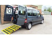 2010 Peugeot Partner Wheelchair Disabled Accessible Vehicle Car
