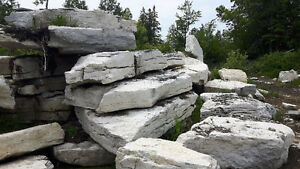 Weatheredge Limestone Armour Stone, Armor stone