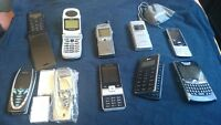 8 Cell phones - 1 New and 7 Used - Various Carriers