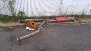 chevy /gmc c/k 88-98 pick up truck exhaust