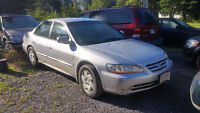 2001 Honda Civic Sedan (for parts OR to fix) - $350