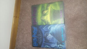 Harry potter book 5 and 6 first edition first printings