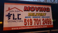 WR MOVING & DELIVERY SERVICES 519 7012499