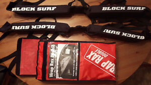 Roof straps for surf & snowboards