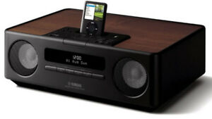 YAMAHA TSX-120 Ipod-Iphone Dock FM radio alarm Bluetooth
