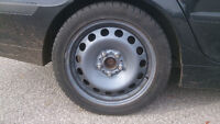 BMW winter tires with OEM rims