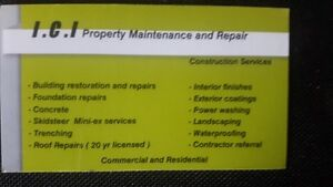 I C I  Property Maintenance and Repair (Construction Services)