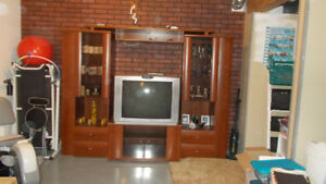 4 peace entertainment center for sale . 200.00 or best offer.