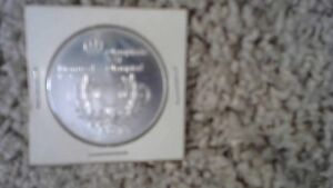 1974 MONTREAL OLYMPIC FIVE DOLLARS SILVER PIECE