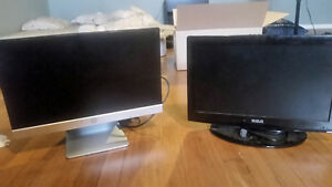 2 Gaming Monitors, 60$ each or 100$ for Both