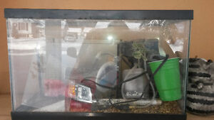 Small Aquarium & Hamster Cage - $10 for both