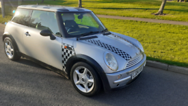 Mini Cooper 1.6 petrol real eyecatcher for some summer fun perfect car