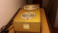 Antique portable stove cuisinière - 1940s 1950s -
