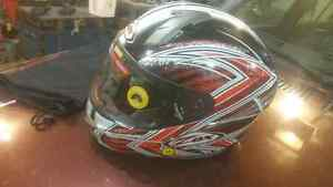 NEW Zox helmet size XS with 2 visors
