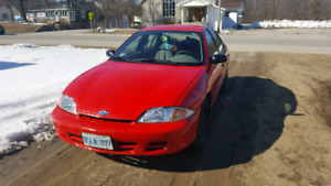 2001 Chevy cavalier as is