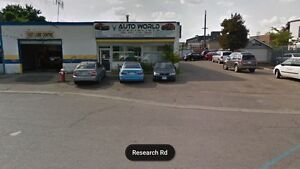 Auto repair shop-running mechanic shop for rent-for lease