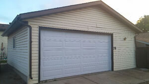 Big Double (24x26) Garage ( Clearview) Now Available