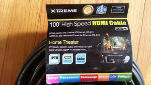 Brand New 100 foot hdmi cable