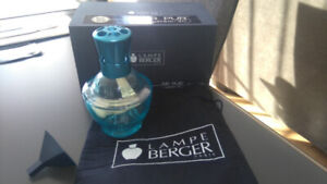Lampe Berger bleue/turquoise