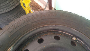 Used Winter Tires Winterforce M+S Belleville Belleville Area image 3