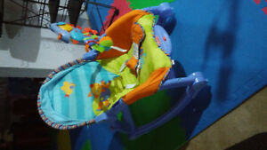 EXCELLENT FISHER PRICE ROCKING CHAIR London Ontario image 1