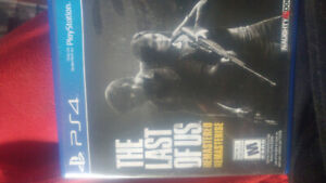 Jeux ps4. The Last Of Us remake