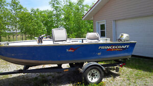 REDUCED-PrinceCraft with Honda 9.9 4 Stroke