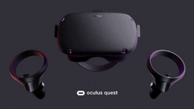 Oculus Quest Virtual Reality Headset   Other Electronics & Computers