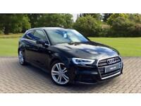 2016 Audi A3 1.4 TFSI 150ps S Line 3dr Manu Manual Petrol Hatchback