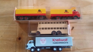 WIKING , SAURER HO Scale trucks