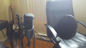 AT2020 mic for sale: Quality + Multiple Accessories