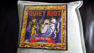 QUIET RIOT ALIVE AND WELL VINYL ! NEW
