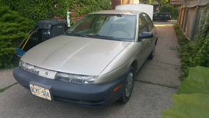 1998 Saturn S-Series with E-test