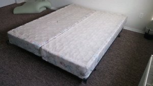 Double queen size box spring